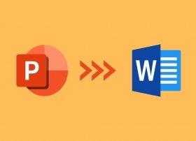 Cómo convertir PowerPoint a Word