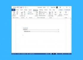 Wie man ein Inhaltsverzeichnis in Word erstellt