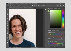 Photoshopで歯の漂白方法