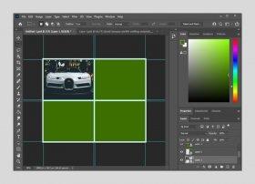 Photoshopでコラージュを作成する方法