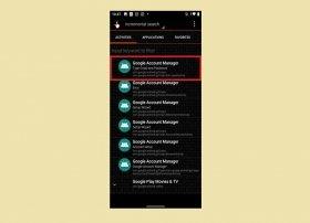 Cómo quitar la cuenta de Google con QuickShortcutMaker
