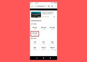 How to download music in MP3 with SnapTube