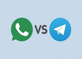 WhatsApp ou Telegram: comparações e diferenças