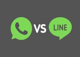WhatsApp ou LINE : comparaison et différences