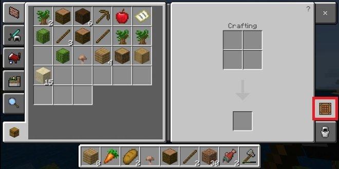 Grade de criação de objetos 3x3