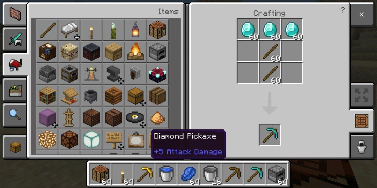 Receta de un pico de diamante