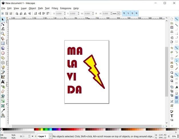 A few Inkscape tools