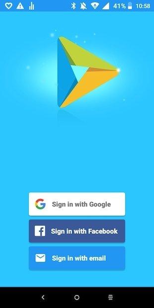 Acceso a la app You TV Player