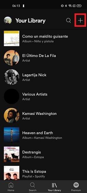 Añadir una nueva lista