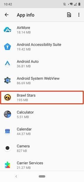 Android App Einstellungen