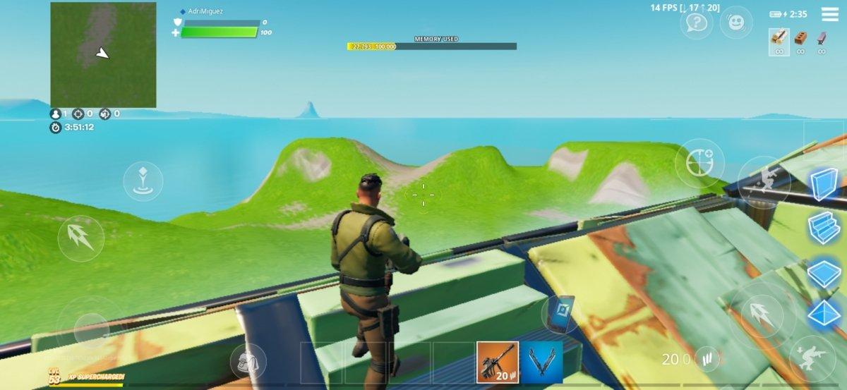 En plus de la hauteur, la forteresse portable nous protège des tirs ennemis