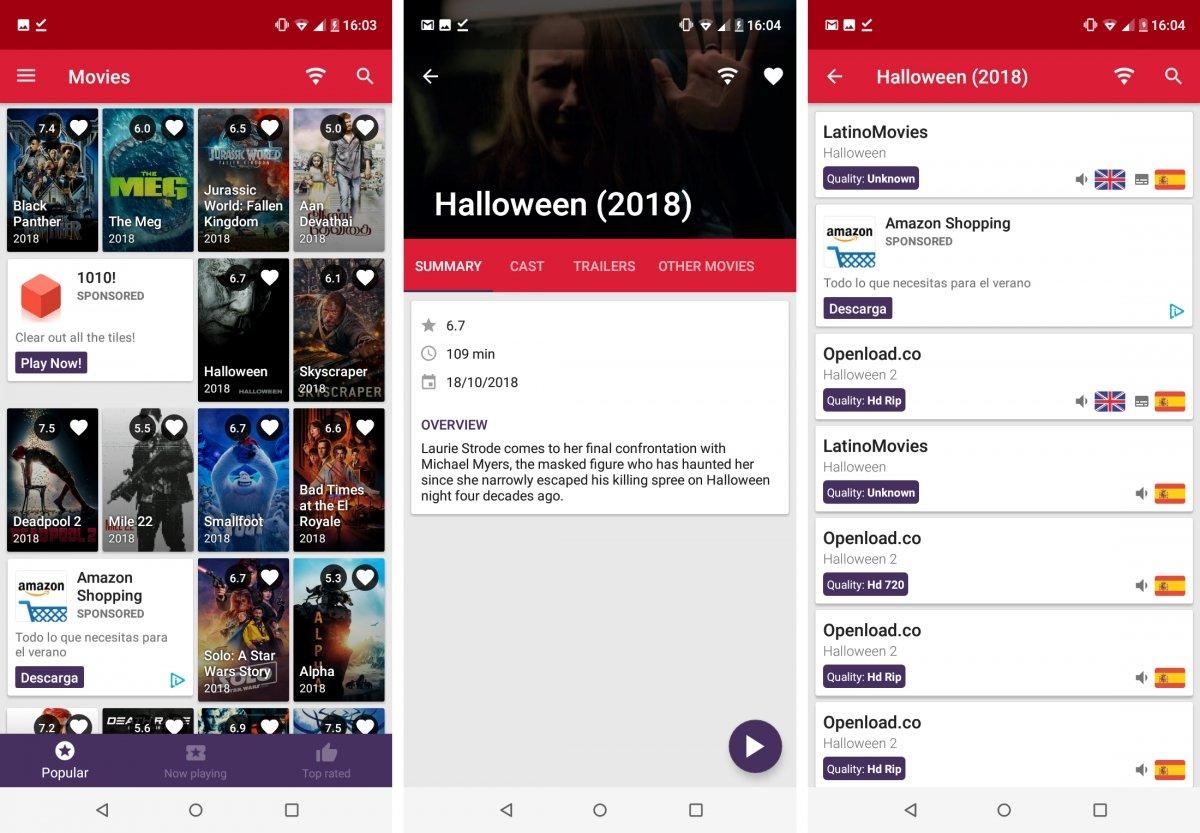AppFlix tiene un catálogo de pelis y series interesante