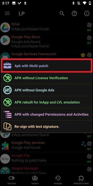 Apply several patches