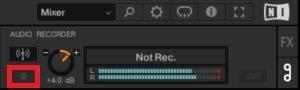 Audio recording