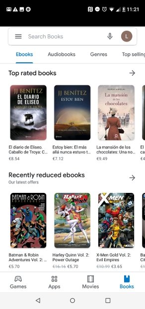 Sélection de livres et de livres audios