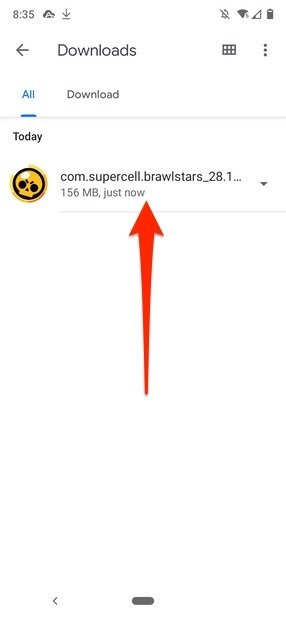 Brawl Stars APK Datei kopieren