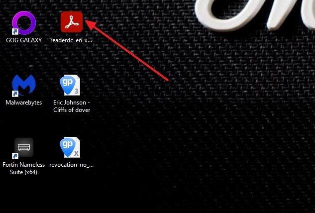Installateur d'Adobe Acrobat Reader