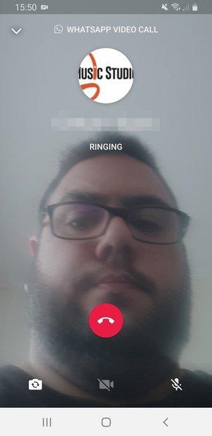 Llamada a un contacto individual