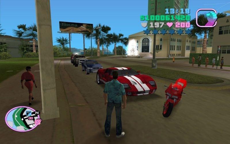 Cheats available for GTA Vice City