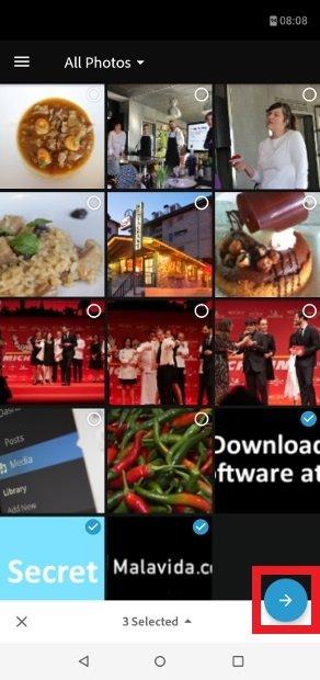 Escolha as fotos que tornará sua imagem engraçada