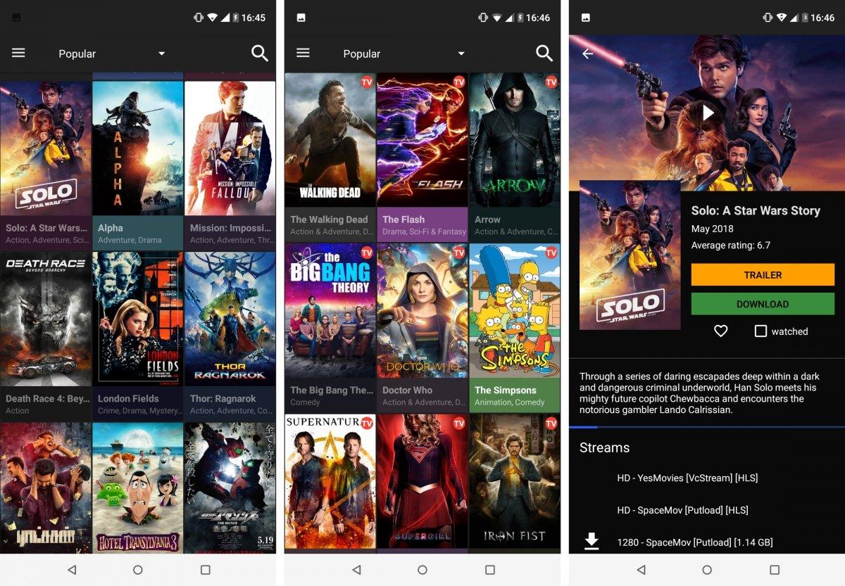 Cinema para Android quiere hacerse hueco
