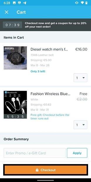 Confirmar compra