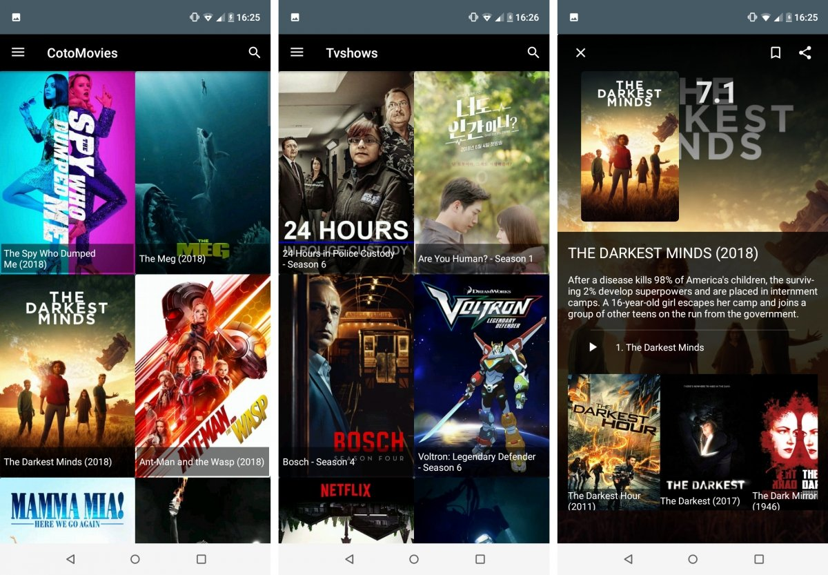 CotoMovies es la última app de streaming aparecida