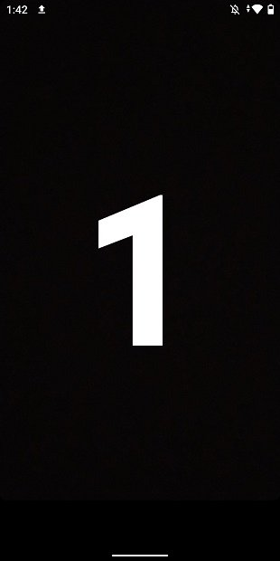 Countdown to start recording