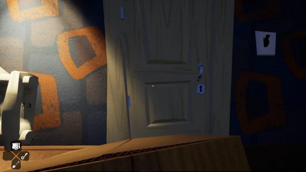 Puerta de entrada al desván