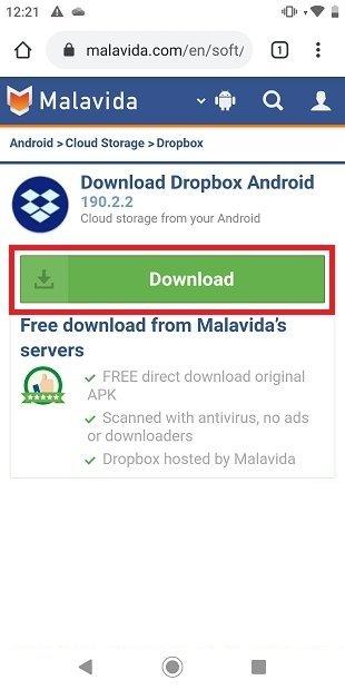 Descargar Dropbox desde Malavida