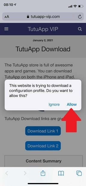 Download the certificate