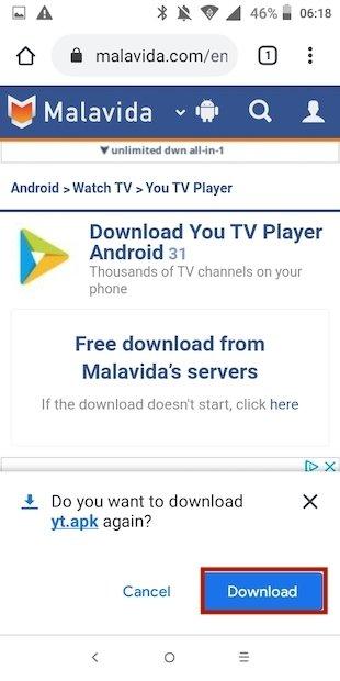 Descarga You TV Player