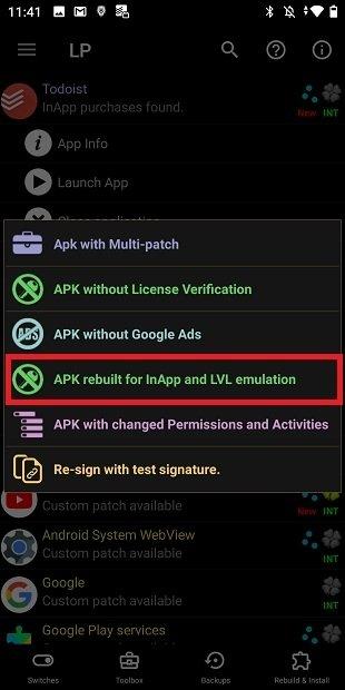 Emulare acquisti in-app