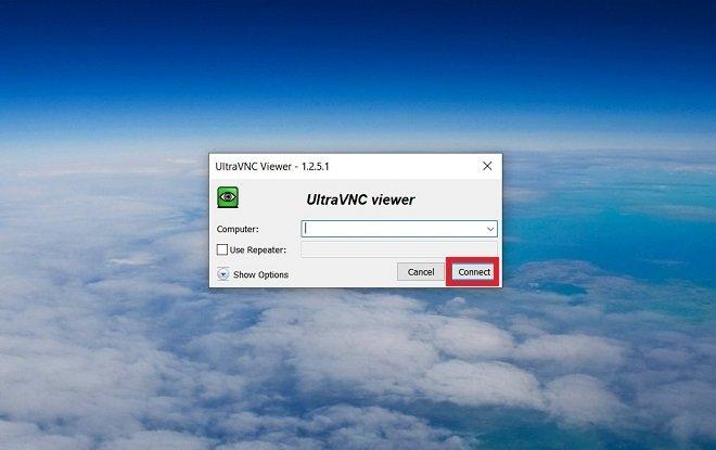 Introducir dirección IP