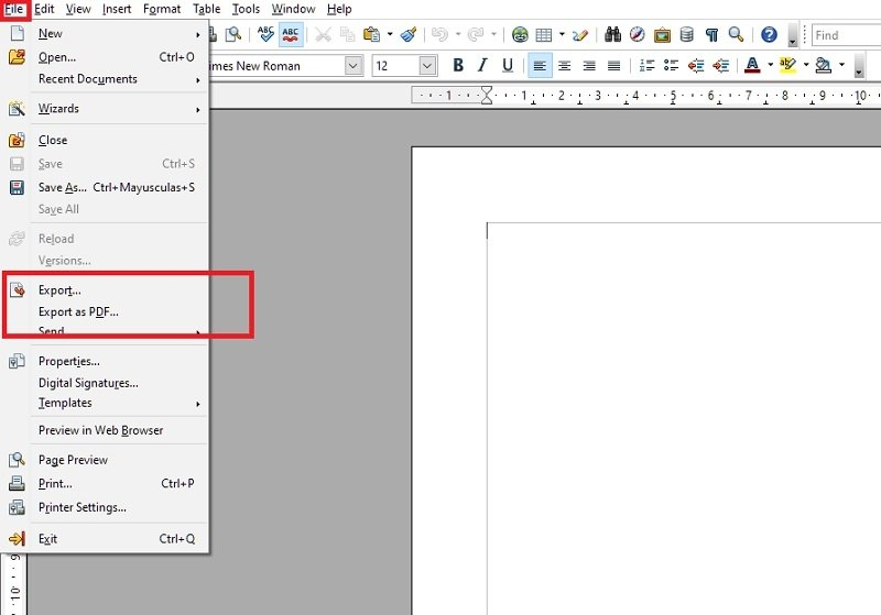 Export the edited PDF