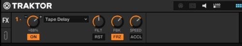 Extended effects module