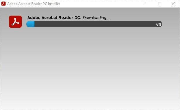 Instalación de Adobe Acrobat Reader