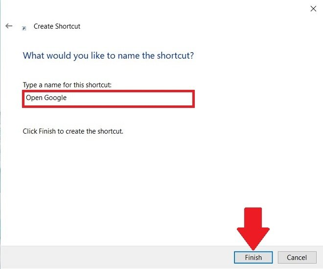 Assegna un nome all'accesso diretto