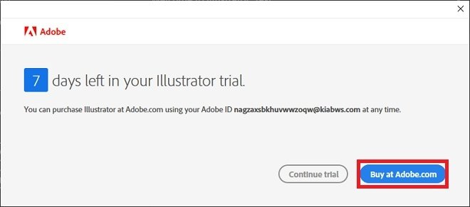 Go to Adobe's site