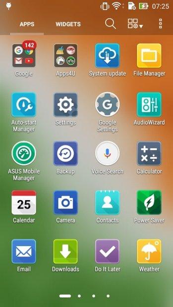 Vá até configurações do Android