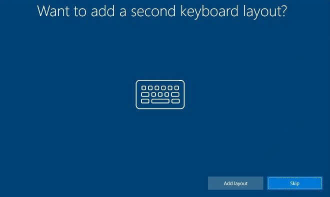 Here you can add a second keyboard