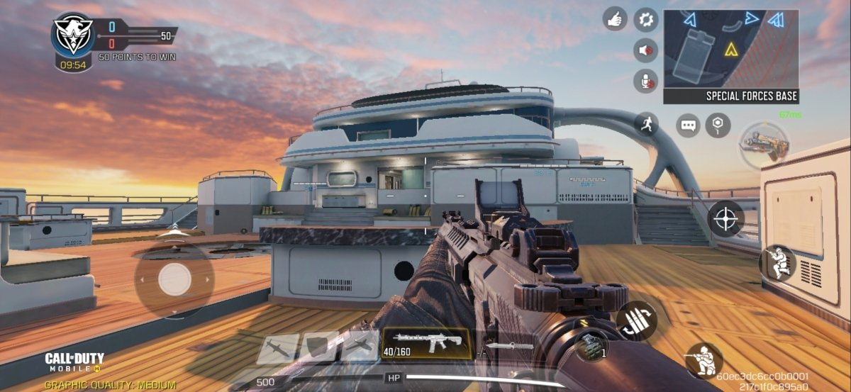 Hijacked, a map located on a yacht