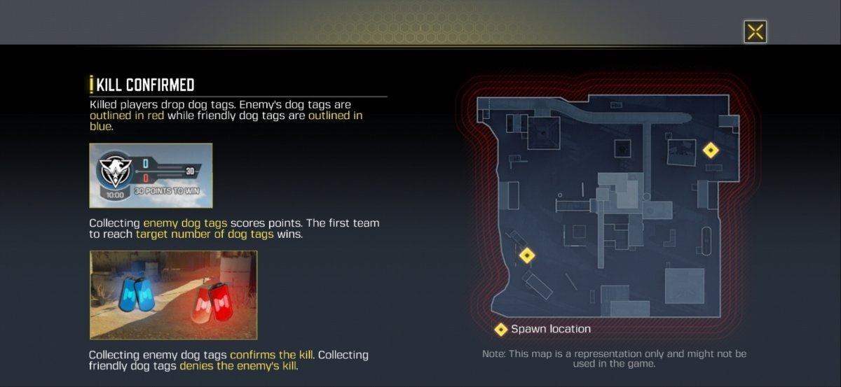 In Kill Confirmed your team has to gather ID plates to win