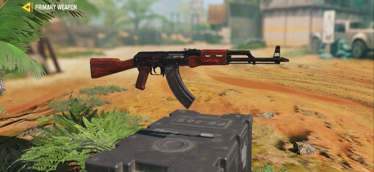 Por alcance y daño, el fusil Ak-47 es uno de los mejores