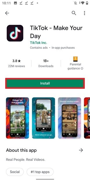 Instalar desde Google Play