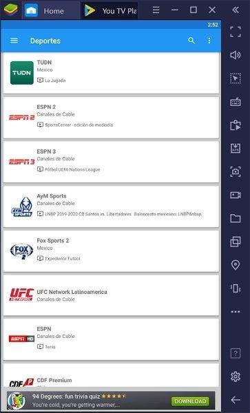 Listas de cadenas de televisión temáticas