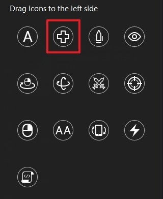 Movement button
