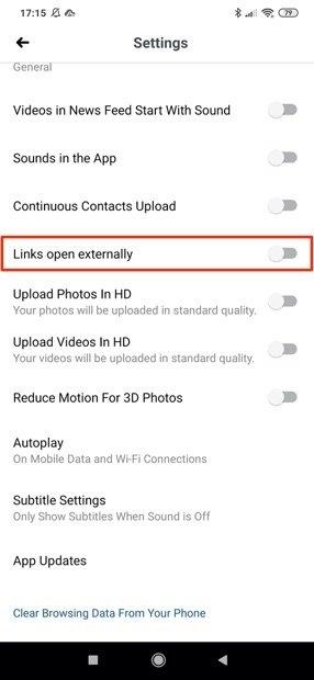 Ajustes de multimedia y contactos