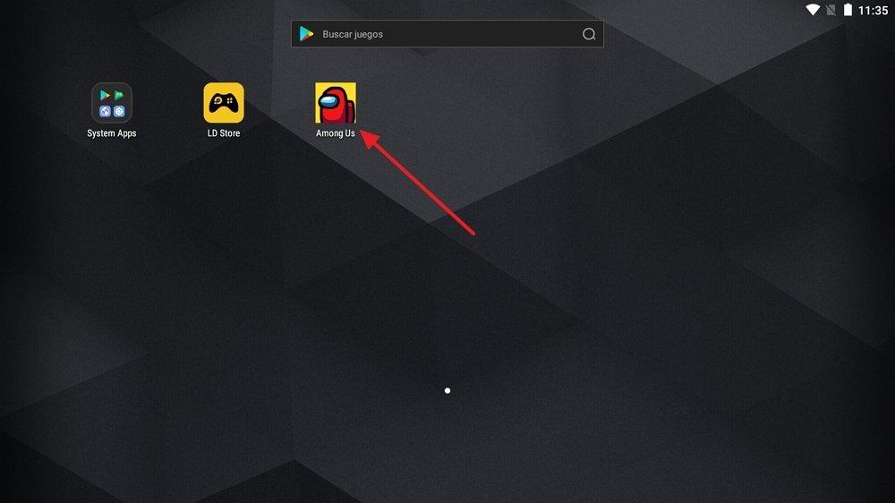 Nouvelle application installée sur LDPlayer