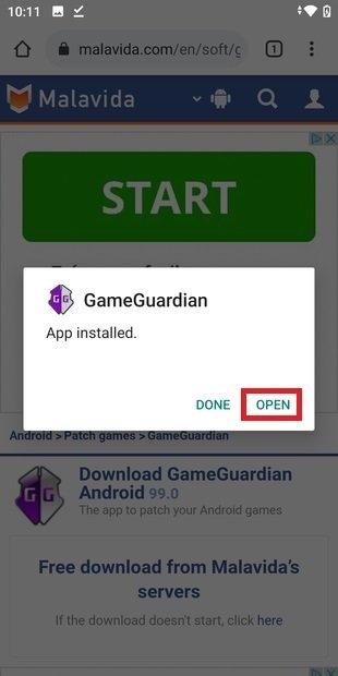 Abrir GameGuardian